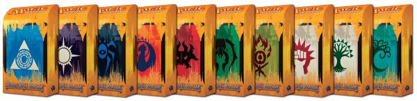 Dragon's Maze Prerelease Guild Packs